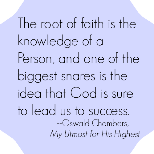 Oswald Chambers quote